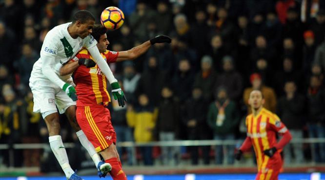 İşte Kayserispor - Bursaspor maçının özeti