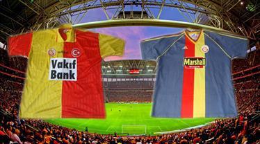 Galatasaray'ın nostaljik formaları