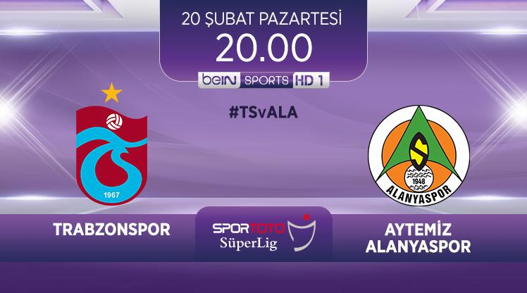 Trabzonspor-Aytemiz Alanyaspor (CANLI)