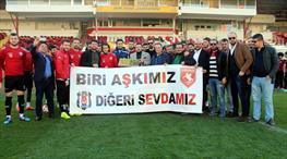 Beşiktaşlılardan Samsunspor'a destek!