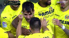 Real Madrid buz kesti! İşte Villarreal'in golü...