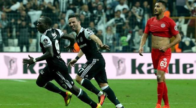 Beşiktaş'ın Antalya karnesi pekiyi