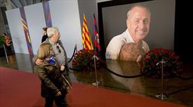 Barça'dan Johan Cruyff'a vefa
