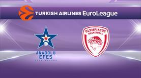 Anadolu Efes - Olympiakos