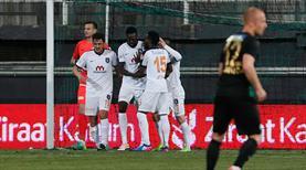Kupada ilk yarı finalist Medipol Başakşehir