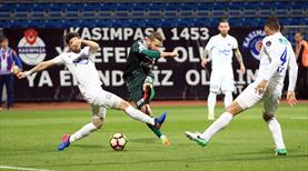 Kasımpaşa - Atiker Konyaspor: 1-1 (ÖZET)