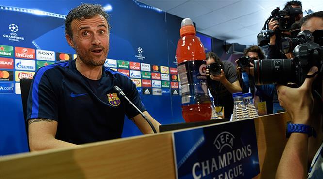 "Luis Enrique iddialı: ""Hedefimiz 5 gol atmak"""