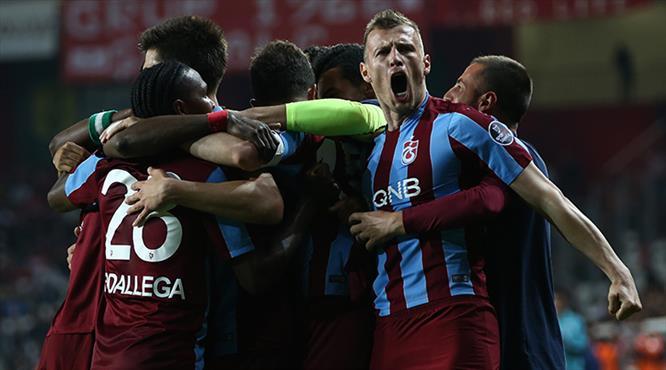 İşte Antalyaspor - Trabzonspor maçının özeti...