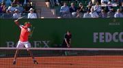 Nadal rakibine raket kırdırttı!