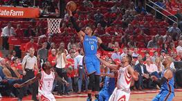 Westbrook'un 51 sayılık triple double'ı yine yetmedi! (ÖZETLER)