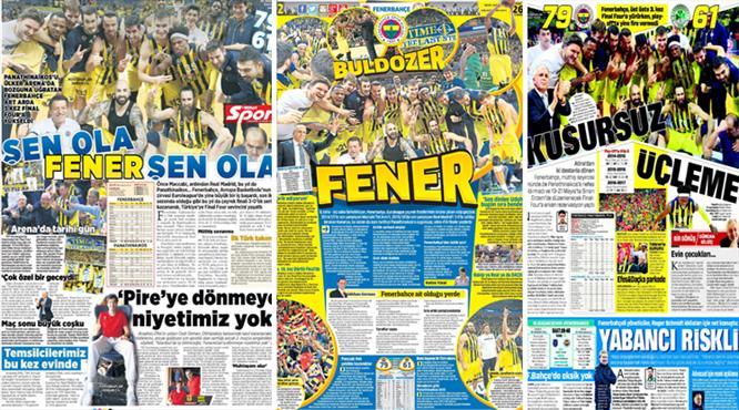 ''Buldozer Fener'' İşte günün manşetleri...