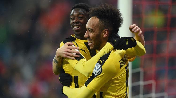 Dembele Bayern'i saf dışı bıraktı