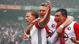 18 yıllık hasrete Kuyt son verdi! Eredivisie'de şampiyon Feyenoord