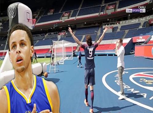 Curry'e rakip çıktı! Cavani'den şaşırtan performans!