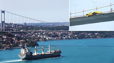 Fenerbahçe bayrakları köprülerde!