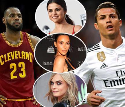 Rakipler bu kez kulvar dışı! Ronaldo ve LeBron'dan çılgın kazanç!