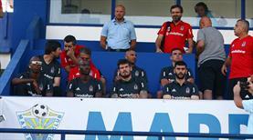 Beşiktaş'ta yeniler forma giymedi!