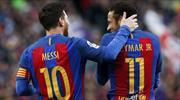 Messi, Neymar'a böyle veda etti!
