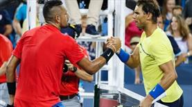 Nadal Kyrgios'a takıldı