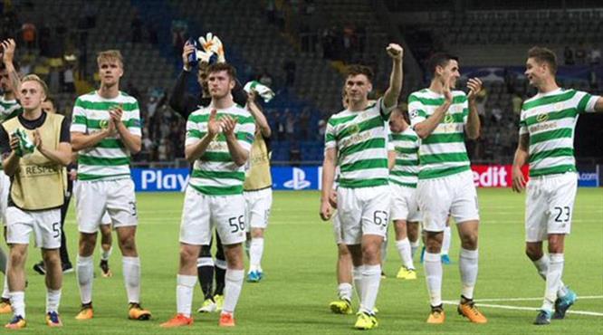 Celtic 4 yemesine rağmen bileti kaptı!