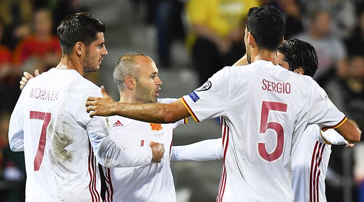 İspanya gol oldu yağdı: 8-0!