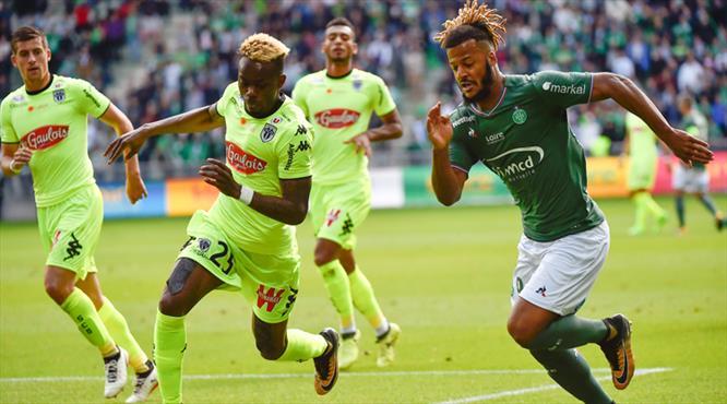 Angers 1-1'e abone (ÖZET)
