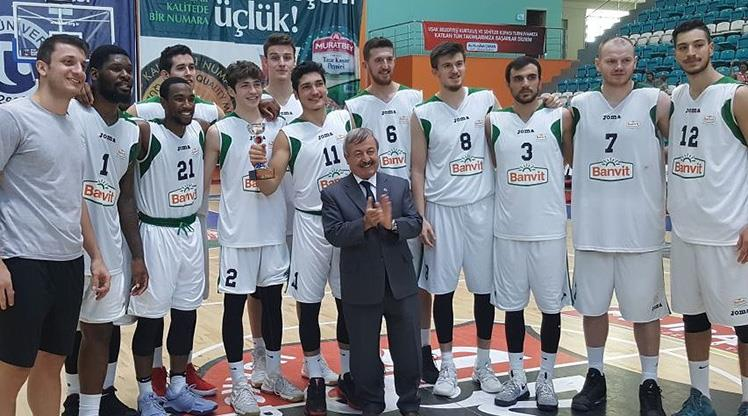 Muratbey Uşak'ı yenen Banvit şampiyon