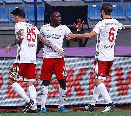 Osmanlıspor - Demir Grup Sivasspor: 2-4 (ÖZET)