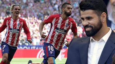 Costa izledi, Atletico şov yaptı (ÖZET)