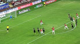 Penaltı anı ve gol!
