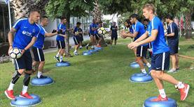 Trabzonspor denge ve kuvvet çalıştı