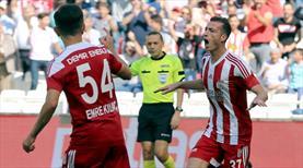 Sivas'ta Hakan Arslan şov! Hat-trick bu golle geldi!