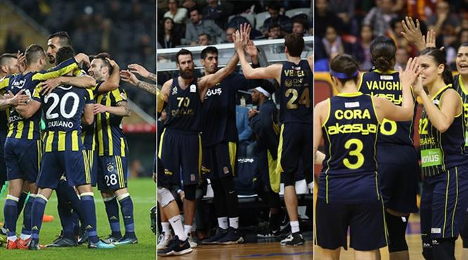 Ezeli rekabette Fenerbahçe damgası