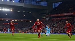 Liverpool muhteşem gollerle apolet söktü (ÖZET)