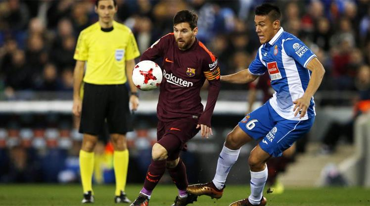 Espanyol Barça'yı şok etti!.. (ÖZET)