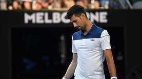 Djokovic'e kötü sürpriz
