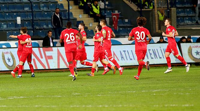 Ankaragücü - Antalyaspor: 0-1 (ÖZET)