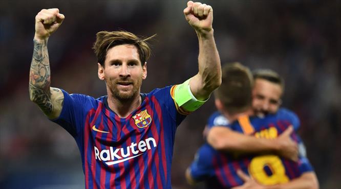 Messi farkını gösterdi, Tottenham dağıldı!