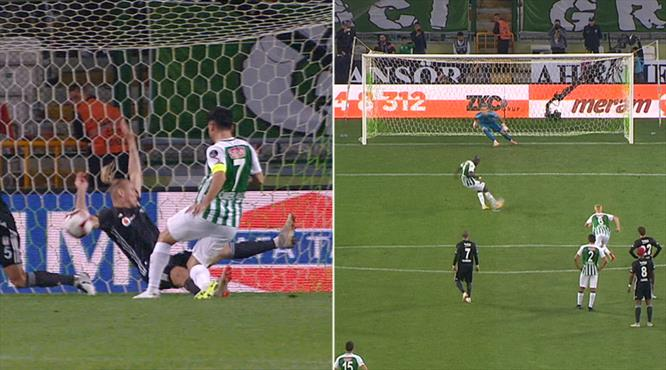 Penaltı ve kırmızı kart! İşte Konyaspor'u öne geçiren gol