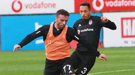 Beşiktaş'ta çift idman