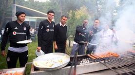 Beşiktaş'ta barbekü partisi