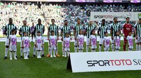 Bursaspor'un 16 maçlık özlemi