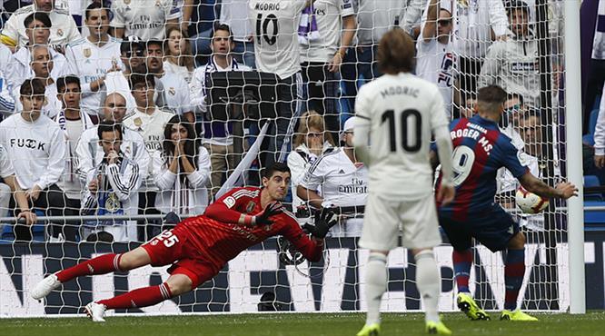 Real Madrid tarihi tersten yazıyor (ÖZET)