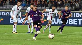 Fiorentina kaçtı, Cagliari yakaladı