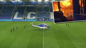 İngiltere futbolu şokta! Leicester'ın sahibinin helikopteri düştü!