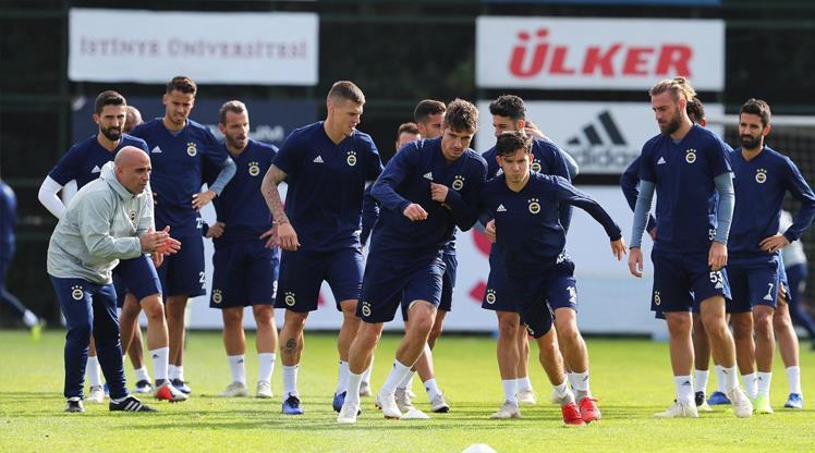 Fenerbahçe'de Anderlecht mesaisi