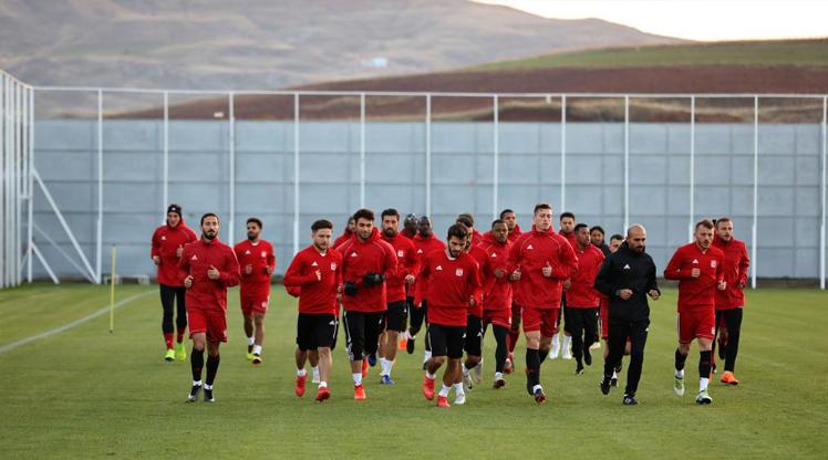 Sivas'ta Beşiktaş hazırlıkları