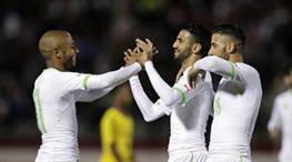 Feghouli ve Benzia Adebayour'u üzdü