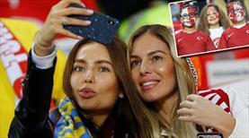 Türkiye - Ukrayna maçından renkli kareler (GALERİ)