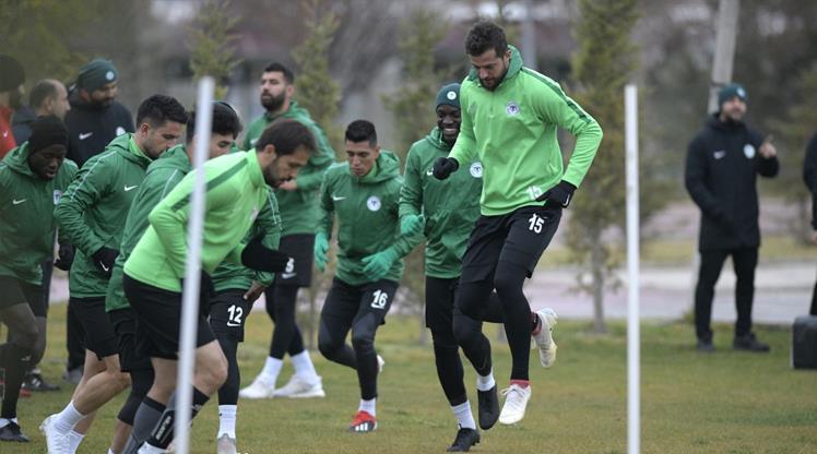 Konya'da hazırlıklar sürüyor